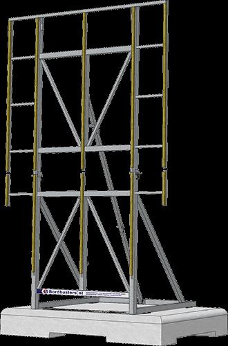 Bordbuster projectbord 3D