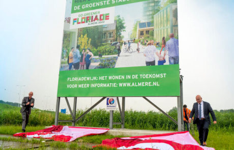 Mega Bordbuster Floriade Almere