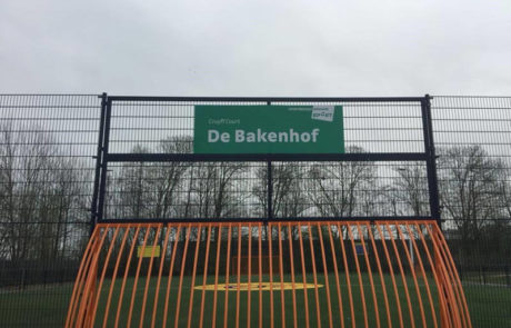 Sportebedrijf Arnhem bord buitenreclame