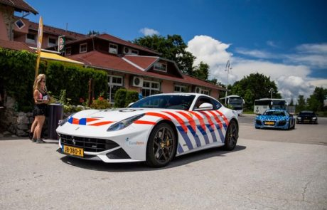 Carwrapping Politie