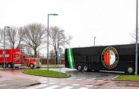 Droomparken vrachtwagen zijkant