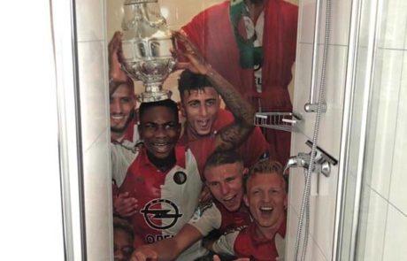 Feyenoord vakantiehuis douche