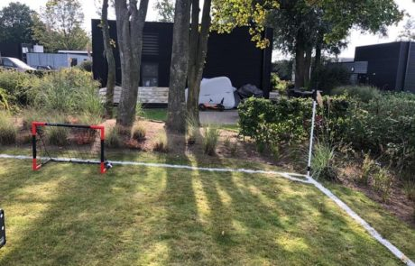 Feyenoord vakantiehuis tuin