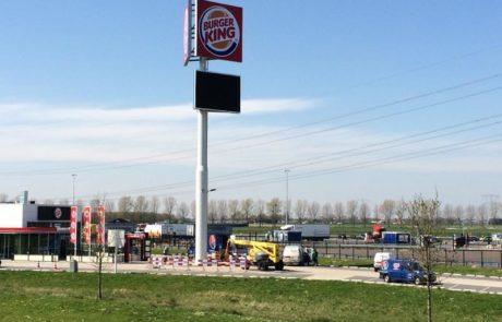 LED scherm Burger King Roosendaal