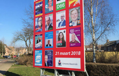 Verkiezingsbord Maastricht