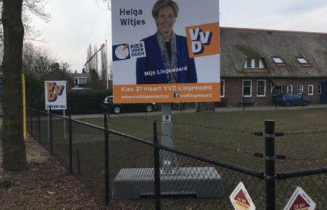 Verkiezingsbord VVD