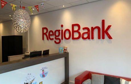 Wandaankleding RegioBank