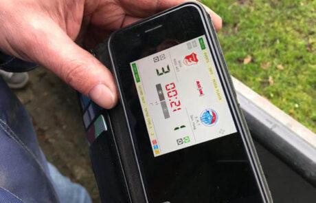 Digitale scoreborden mobiel