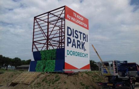 Mega-Bordbuster Dordrecht zijkant