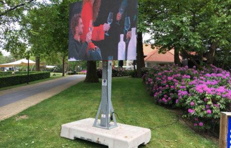 Mobiel led scherm