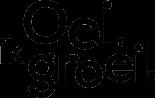 Oei ik groei logo