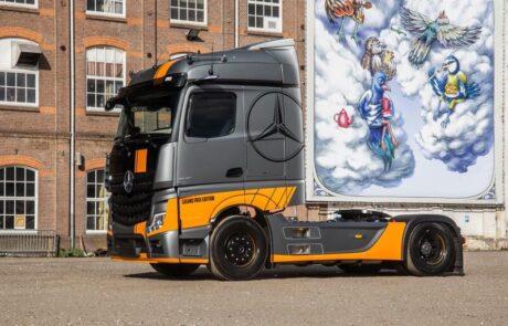 Wensink voertuigreclame vrachtwagen