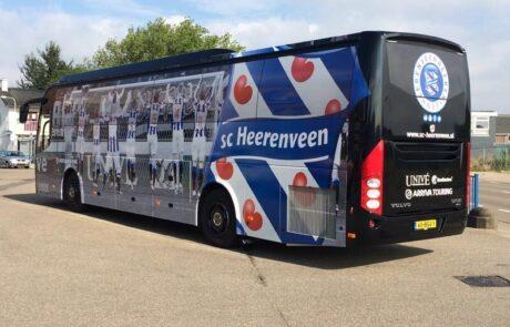 Voertuigreclame Bus Heerenveen