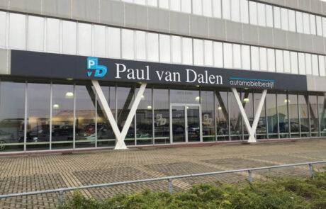 Gevelreclame Paul van Dalen