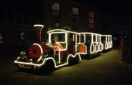 Kerverlichting trein