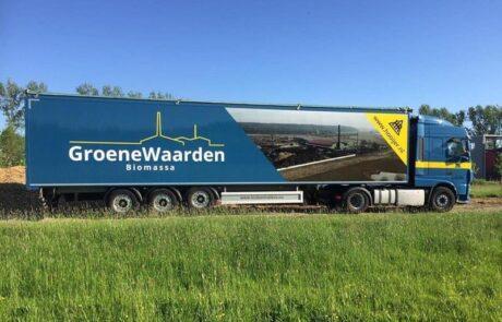 Vrachtwagen wrappen Hooijer